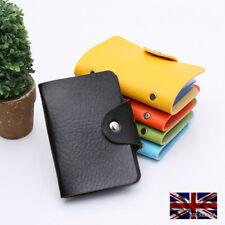 Card Holder Mini Wallet Unisex High Quality Credit ID Oyster Travel Women Men UK