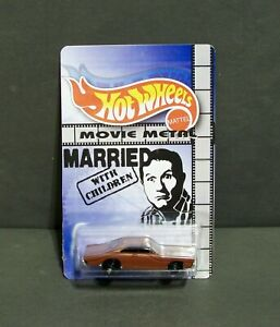 """Custom HotWheels AL's DODGE and package of  """"Movie Metal""""  MARRIED WITH CHILDREN"""