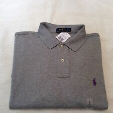 RALPH LAUREN POLO CUSTOM FIT LS INTERLOCK T SHIRT SIZE XL NEW WITH TAGS RRP £85