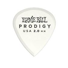 Genuine Ernie Ball 2.0 mm White Mini Prodigy Picks 6-Pack P09203