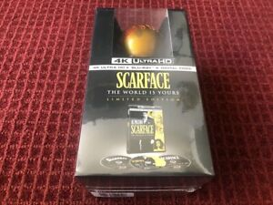 Scarface (Blu-Ray, 1983, 3 Discs, Limited Edition) *Brand New Sealed*