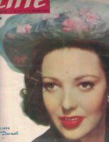 Hebdo Cine Magazine #221 February 9 1950 Linda Darnell Roberto Rossellini