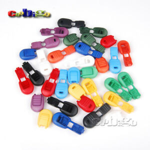 Zipper Pull Cord Ends Cord Lock Stopper Backpack Garment Cord Rope Bag Parts