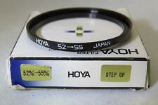 Hoya 52mm-55mm Step Up Ring + Free UK Postage