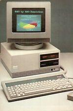CARTOLINA PUBBLICITARIA - OLIVETTI PERSONAL COMPUTER M24 SP / PROMO CARD
