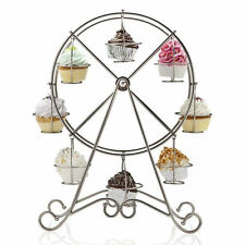 8 Cup Ferris Wheel Cake Cupcake Cooling Rack Stand Holder Birthday Party Wedding