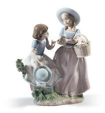 Lladro Girlfriends Figurine #6949 Brand Nib Pastel Flowers Girls Save$ F/Sh