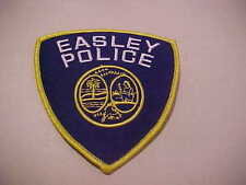 EASLEY SOUTH CAROLINA  POLICE PATCH **** FREE SHIP IN USA **** SHOULDER SIZE NEW