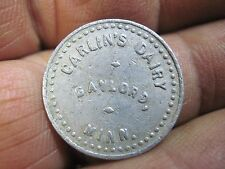 GAYLORD MINNESOTA MN GOOD FOR IN TRADE CARLINS DAIRY IN TOKEN MERCHANT'SORIGINAL