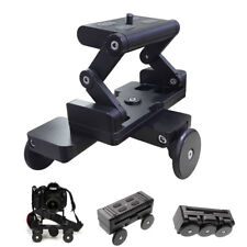 Foldable Table Dolly Track Video Stabilizer Rolling Slider For Camera Smartphone