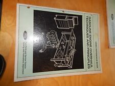 FORD VIDEO REFERENCE BOOK GASOLINE ENGINE OVERHAUL TECHNIQUES PRINCIPLES 1984