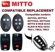 RADIOCOMANDO TELECOMANDO BFT ROLLING CODE  433MHZ // COPIA CANCELLO MITTO NEW