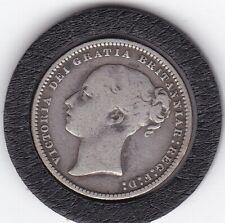 1871   Queen   Victoria   Sterling   Silver  Shilling  British Coin