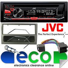 VAUXHALL MERIVA A 02-05 JVC Stereo CD MP3 USB Lettore & Grigio Fascia KIT DI MONTAGGIO