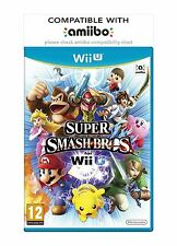 Super Smash Bros - Nintendo Wii U - MINT - Super FAST First Class Delivery FREE