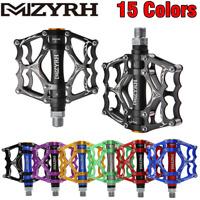 Mzyrh Ultralight Bicycle Pedal Aluminum Cycling  MTB Road Bike Pedals 3 Bearings