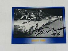 Cotton Owens autographed LEGENDS NIGHT TIME VINTAGE card MASTERS OF RACING 1991