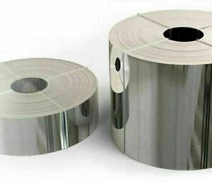 Acciaio Nastro Ø 0.05-0.4mm 1.4301 V2A 304 Pellicola Blechband Strisce Bricolage