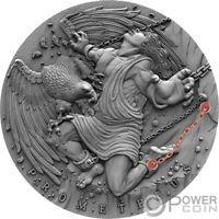 PROMETHEUS Ancient Myths 2 Oz Silver Coin 5$ Niue 2019