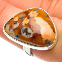 Mookaite 925 Sterling Silver Ring Size 7.5 Ana Co Jewelry R43025F