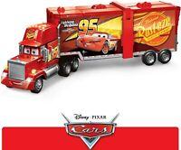 Cars véhicule Camion Méga Mack, transformable en circuit dépliant pour voitures