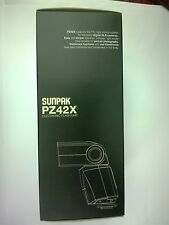 SUNPAK PZ42X Flash E-TTL II , E-TTL for Canon