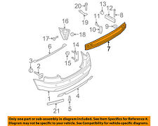 AUDI OEM 05-08 A4 Quattro Rear Bumper-Impact Reinforcement Bar Rebar 8E0807313J