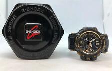 G-Shock GPW-1000GB Master of G Gravitymaster Black & Gold Tough Solar GPS Watch
