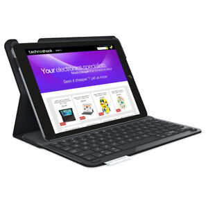 Logitech Type+ Folio Keyboard Cover for iPad Air 1 Black - Turkish Layout