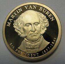 2008-S Martin Van Buren DCAM Proof Presidential Dollar Bargain Priced FREE S&H