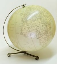 1955 Globo hinchable Hammond de gran tamaño inflatable terrestrial globe