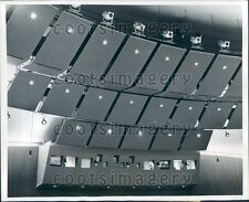 1955 Lights Sound Baffles Movie Projection Booth Music Hall at MIT Press Photo