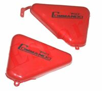 New Norton Commando 750 Tool Box Oil Tank Side Panel Steel Red Painted GEc