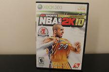 NBA 2K10  (Xbox 360, 2009) *Tested