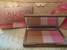 URBAN DECAY-NAKED-FLUSHED-NATIVE-BRONZER/HIGHLIGHTER/BLUSH-NIB!!!