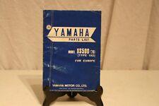 ANCIEN MANUEL YAMAHA XS 500 (76).