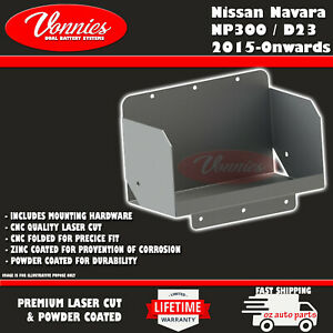 Dual Battery Tray FOR Nissan Navara NP300 / D23 2015-Onwards by Vonnies