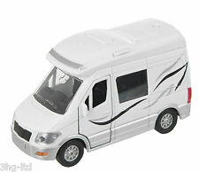 Teamsterz Motorhome with Engine Sounds Camper Van DieCast Vehicle FREE P&P NEW