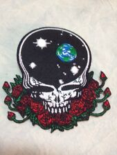 """Grateful Dead Iron On Collectors Patch 4""""  Roses Skull Space Your Face 2013 New"""