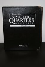 State Quarters 1999-2008 P&D Circulated in a Black and Silver H.E. Harris Book