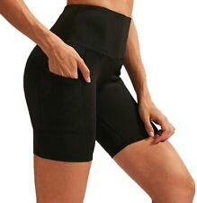XMLMRY Women's Yoga Shorts Running Workout Bike Hiking Athletic High Waist Short