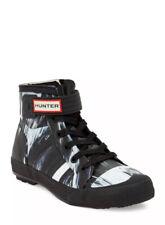 Hunter High Top Sneakers Rubber Boot Nightfall Waterproof Wmns 6.5 Msrp $250