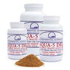 AQUA 5 DRY Filterbakterien Teichbakterien 37,5 m³ Filter Starter Koi Algen 70 g