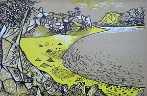 John Craxton RA (1922-2009) Original 1944 lithograph (link Piper, Minton, Nash):