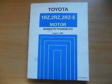 Werkstatthandbuch MOTOR Toyota Hiace 08.1989 RM167M