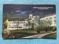 Padua High School, Watkins Glen New York Vintage Postcard
