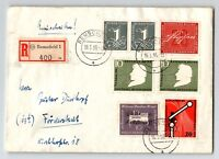 Germany 1956 Registered Cover w/ Better Issues - Z13176