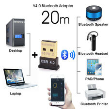 Bluetooth 4.0 USB Stick Adapter Mini Nano Dongle EDR High Speed Dual-Mode AUX NU