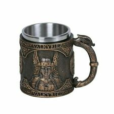 More details for a viking mug / tankard valkyrie norse god man cave bar beer ale coffee(ammc9847)
