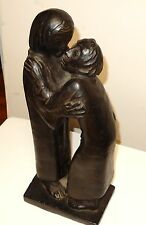 "ERNST BARLACH ""THE REUNION"" STONE COMPOSITION NOACK EDITION MPI SCULPTURE C 1960"